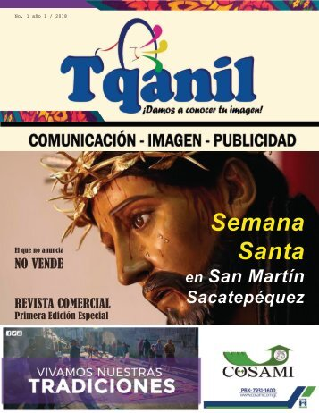 PRIMERA EDICION REVISTA TQANIL 2018