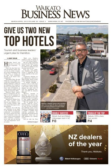 Waikato Business News March/April 2018