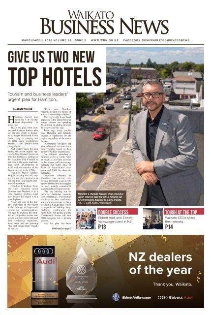 Waikato Business News March/April 2018