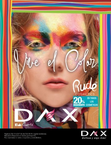 Vive el color con Dax