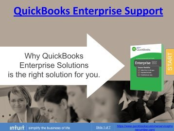 With QuickBooks Enterprise Support, Enterprise Solutions here for you