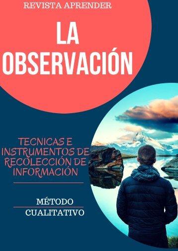 REVISTA DE LA OBSERVACION INVESTIGACION 2