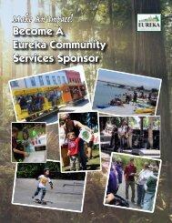Eureka Community Services Sponsorship Opportunities