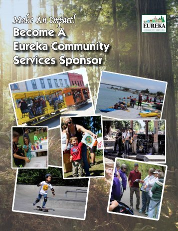 Eureka Community Services Sponsorship Opportunities