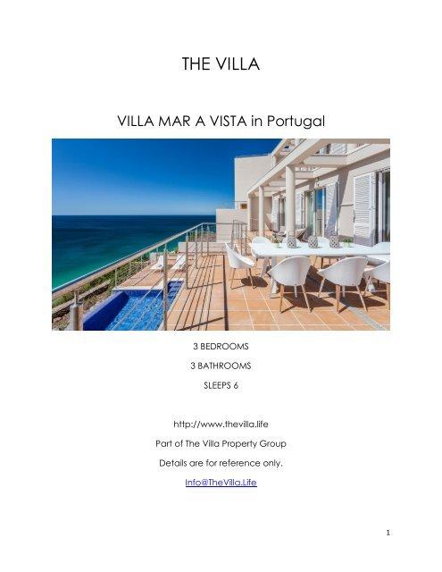 Villa Mar a Vista - Portugal