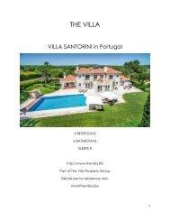 Villa Santorini - Portugal
