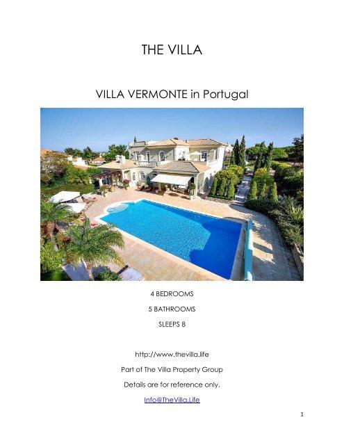Villa Vermonte - Portugal