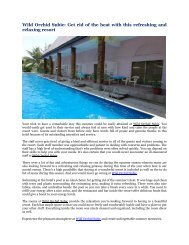 Wild Orchid Subic: Get rid of the heat with this refreshing and relaxing resort