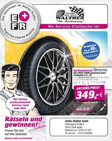 Reifen Walter - 28.03.2018