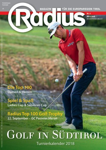 Radius Golf 2018