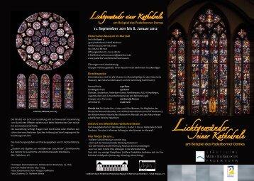 Lichtgewänder einer Kathedrale - Kloster Mustair