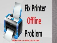 Toshiba Printer Offline Error