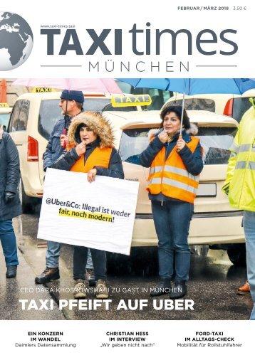 Taxi Times München - Februar 2018