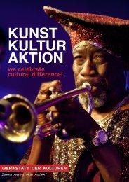 WERKSTATT DER KULTUREN: Kunst, Kultur, Aktion