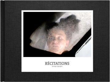 RÉCITATIONS - Helga Utz