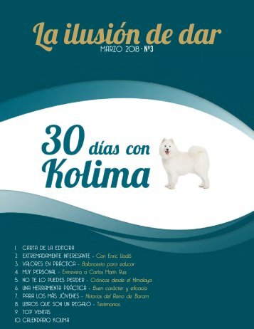 30 dias con Kolima - Marzo 2018