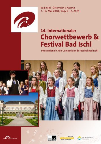 Bad Ischl 2018 - Program Book