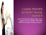 Canon Printer support phone Number 1877-929-3373