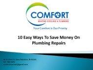 10 Easy Ways To Save Money On Plumbing
