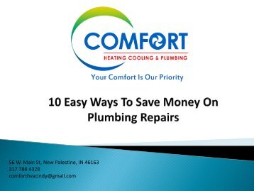 10 Easy Ways To Save Money On Plumbing
