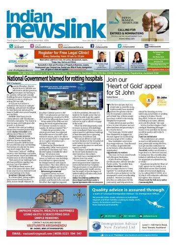 Indian Newslink 1st APRIL 2018 Digital Edition