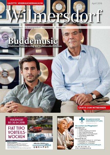Gazette Wilmersdorf Nr. 4/2018