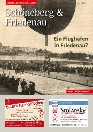 Gazette Schöneberg & Friedenau Nr. 4/2018