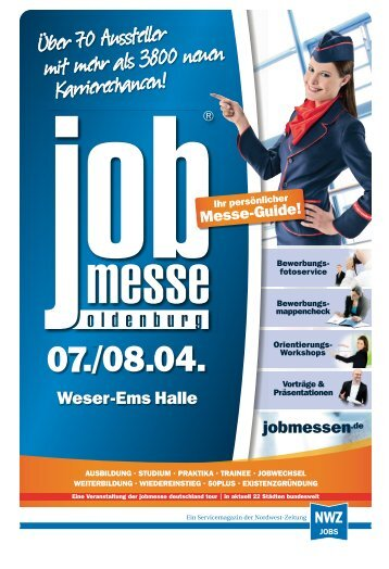 Der Messe-Guide zur 12. jobmesse oldenburg