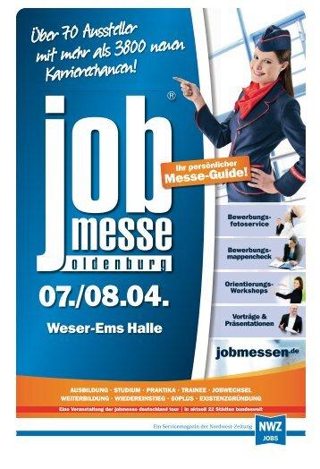 Der Messe-Guide zur 12. jobmesse oldenburg