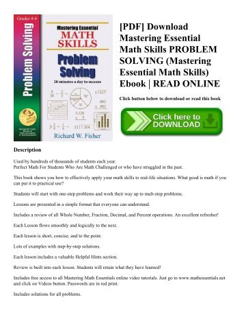 These are the essential skills for Functional Math Skills o Money ...