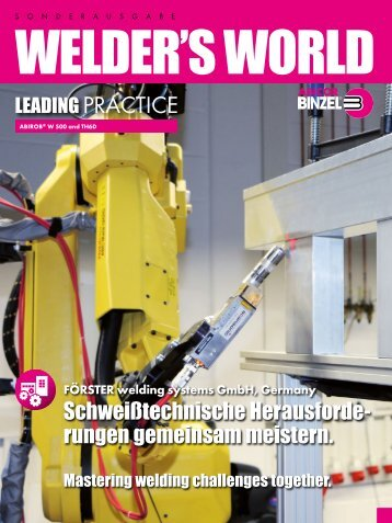 Leading Practice | FÖRSTER welding systems, Germany