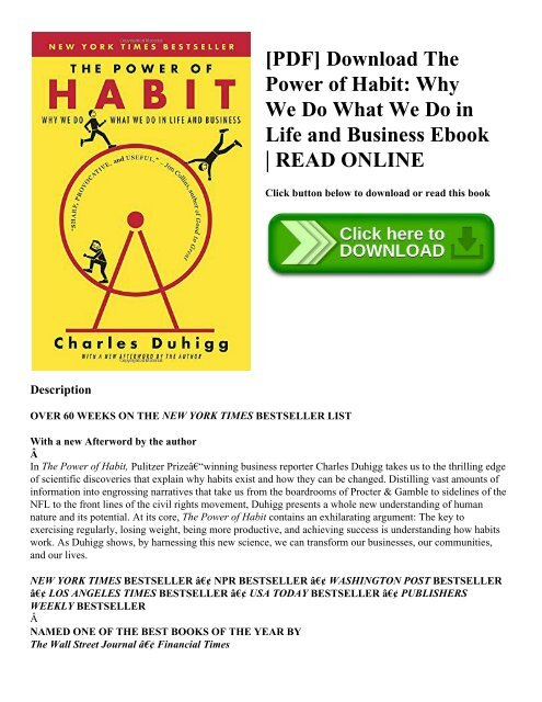 The power of habit pdf in hindi