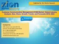 Global Customer Communication Management (CCM) Market, 2016–2024
