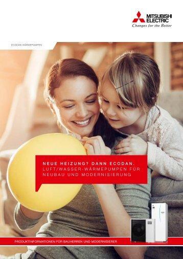 Katalog Mitsubishi Electric Wärmepumpe