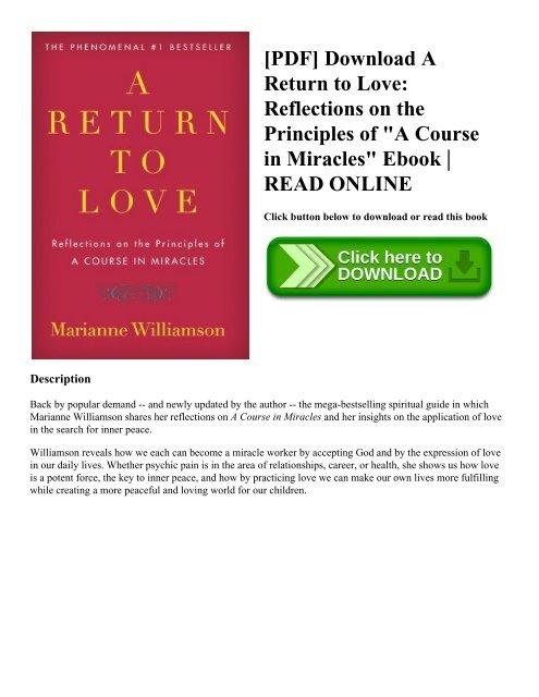 Marianne Williamson Ebook