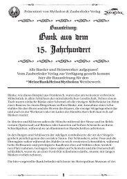 Bauanleitung Holzbank DE