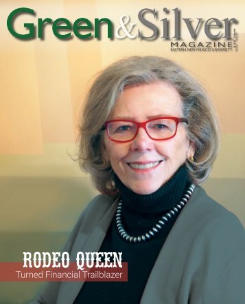 ENMU Green & Silver Magazine - April 2018 issue