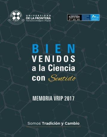 Memoria VRIP 2017