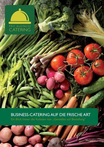 Prospekt als PDF herunterladen - Pro Business Catering