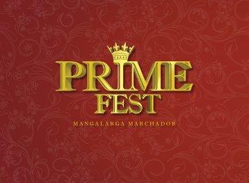 Prime Fest 2018 Catálogo