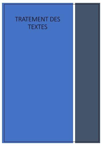 traitement-de-texte-2018