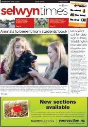 Selwyn Times: April 04, 2018