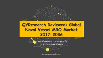 QYResearch Reviewed: Global Naval Vessel MRO Market 2017-2036