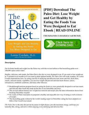 Pdf download deceptively delicious simple secrets to get your kids pdf download the paleo diet lose weight and get healthy by eating the fandeluxe Image collections