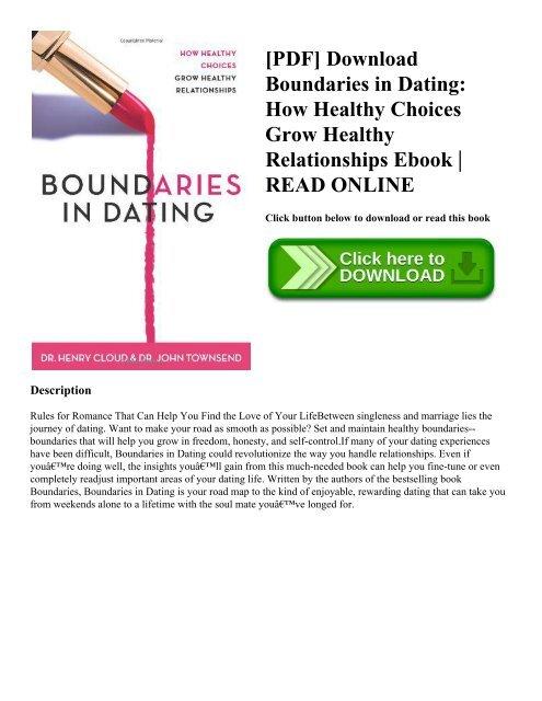 boundaries in dating ebook download