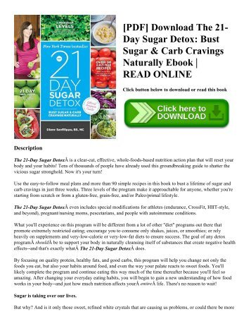 21 day sugar detox wellness with rose pdf download the 21 day sugar detox bust sugar carb cravings fandeluxe Gallery