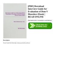 dsm v pdf download ita