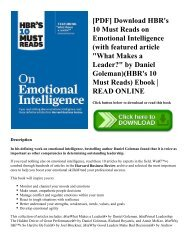 Hbrs 10 Must Reads The Essentials Pdf