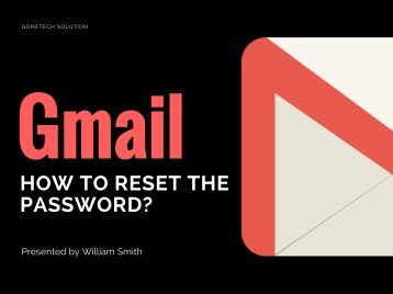 How To Reset Gmail Account Password - 2018 | You Can't Miss!!!