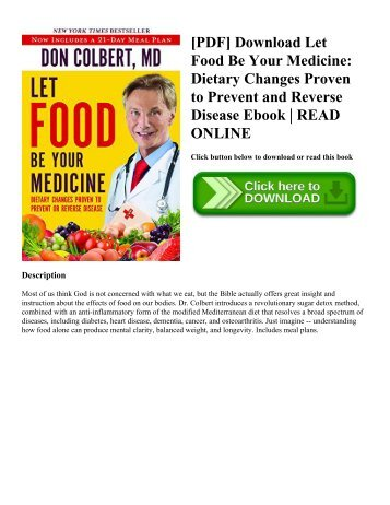 Pdf download the end of alzheimers the first program to prevent pdf download let food be your medicine dietary changes proven to prevent and fandeluxe Choice Image